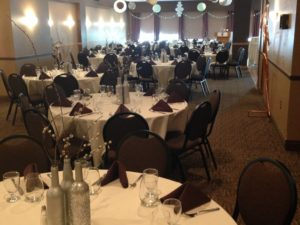 Winnipeg Winter Club Wedding